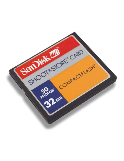 COMPACT FLASH CARD 32Mb SanDisk