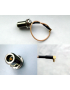 PIGTAIL MMCX/ N (F) RIGHT ANGLE 180mm HIGH PERF 6 SECTION