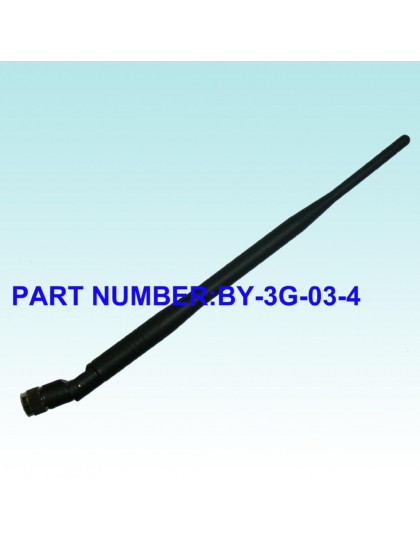 3G RUBBER ANTENNA SMA 4.5 dBi BY-3G-03-4
