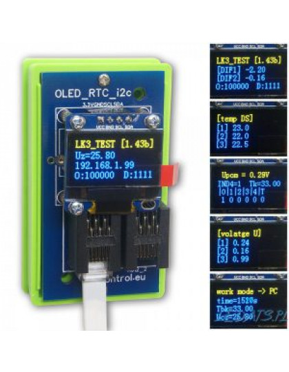 OLED Yellow and Blue Display 0.96""