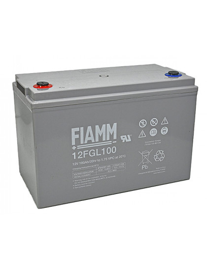 BATTERY 100Ah 12V FIAMM - 12FGL100