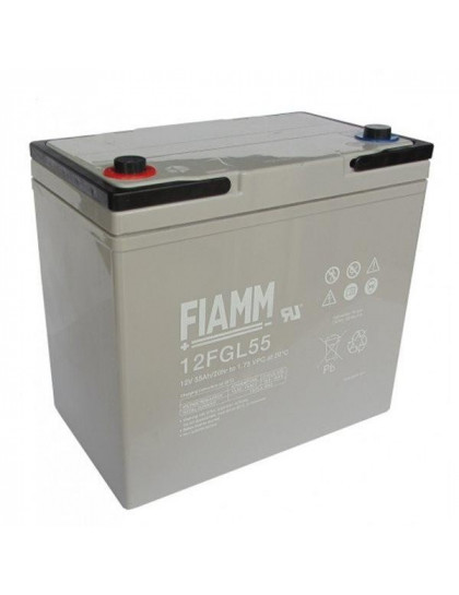 BATTERY 55Ah 12V FIAMM - 12FGL55