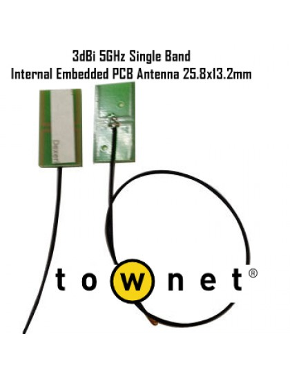 Patch adhesive antenna 5GHz MMCX
