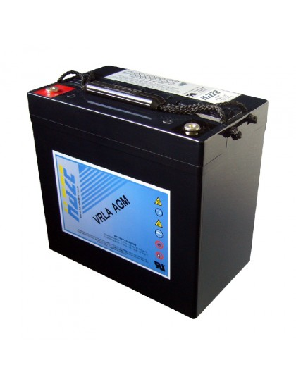 BATTERY HZB12-55 12 Volts 55 Ah HAZE