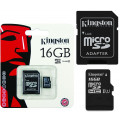 Kingston micro SD HC - 16GB