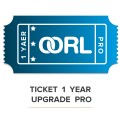 Ticket OORL Upgrade Pro
