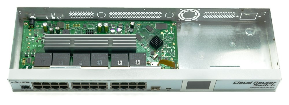 Cloud Router Switch Crs125 24g 1s Rm Image Of Router