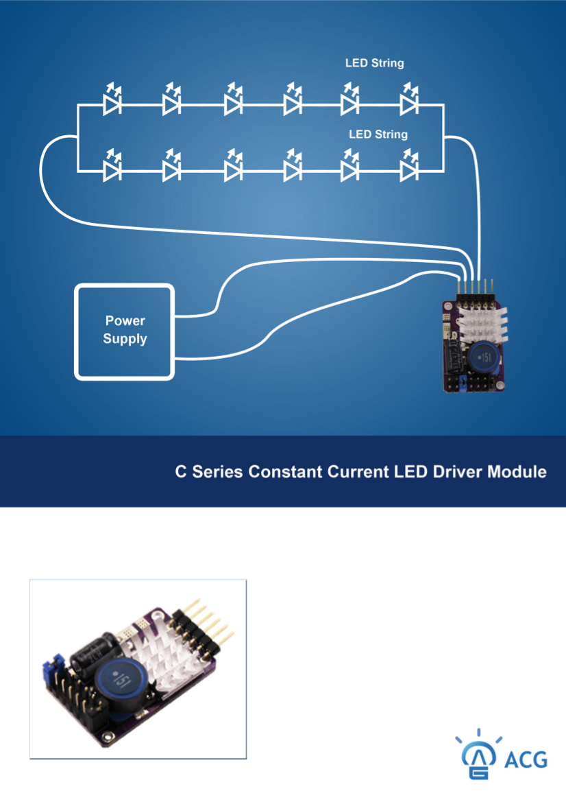Constant Current Power LED Drivers